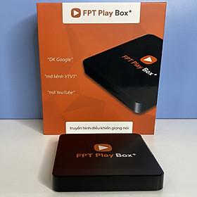FPT Play Box+ New Plus 4K Android box Điều khiển giọng nói - Hàng Chính Hãng