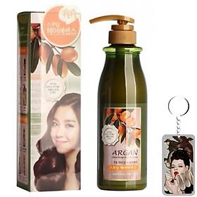 Tinh chất dưỡng tóc argan tạo kiểu tóc mềm Confume Smoothing Hair Essence 500ml tặng móc khóa