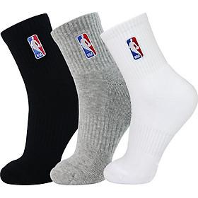 Bộ 3 Đôi Vớ Thể Thao Nam NBA