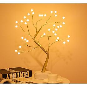 Đèn ngủ hình cây- đèn ngủ để bàn - đèn trang trí phòng ngủ cao cấp