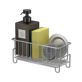 Kệ rổ đựng đồ rửa chén có khay hứng nước HOBBY KRC5 - Inox 304 nhỏ gọn tiện lợi không rỉ sét
