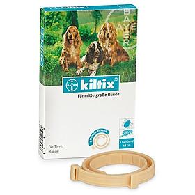 Vòng chống ve ghẻ bọ chét rận tai cho chó lớn - Bayer Kiltix