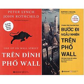 Bộ Sách Kinh Điển Đầu Tư Chứng Khoán ( Trên Đỉnh Phố Wall + Bước Đi Ngẫu Nhiên Trên Phố Wall ) tặng kèm bookmark Sáng Tạo