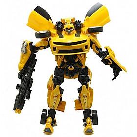 Bộ đồ chơi robot biến hình 2 trong 1 Bumblebee - Robot biến hình Transformer Kỷ nguyên hủy diệt Bumblebee - robot quen thuộc trong series phim Transformer nổi tiếng, cao 23cm