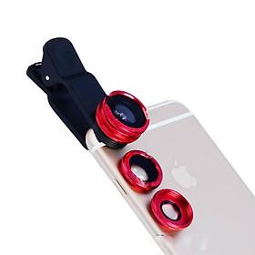 Bộ ống kính lens hỗ trợ chụp ảnh cho điện thoại