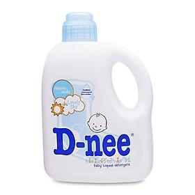 Nước giặt xả quần áo D-nee Lovely Sky (Xanh dương) 960ml
