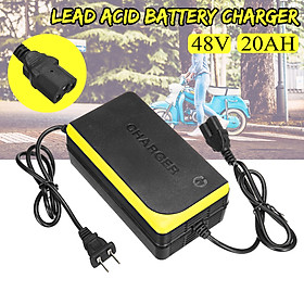 48V 20AH Lead Acid Battery Charger for Electric Bicycle Bike Motorcycle
