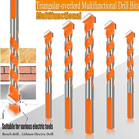 5Pcs 6/8/10/12mm Triangular-overlord Handle Multifunctional Drill Bits 2019