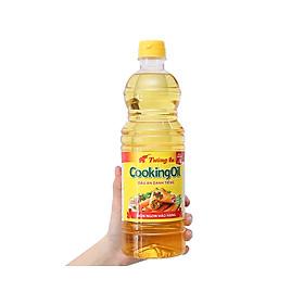 Combo 3 chai Dầu thực vật Tường An Cooking oil chai 1 lít