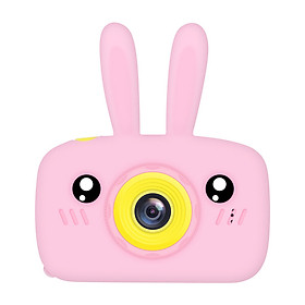 2 Inch HD Screen Digital Mini Camera Kids Cartoon Cute Camera Toys Outdoor Photography Props for Child