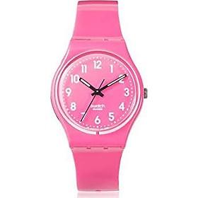 Swatch Originals Dragon Fruit Soft Pink Dial Silicone Strap Unisex Watch GP128K