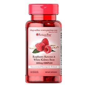 Thực Phẩm Chức Năng - Viên Uống Hỗ Trợ Giảm Cân Puritan'S Pride Raspberry Ketones & White Kidney Bean 600Mg Complex (60 Viên)