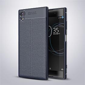 Ốp lưng cho Sony Xperia XA1 Plus silicon giả da, chống sốc chính hãng Auto Focus