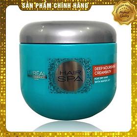Dầu hấp ủ tóc nuôi dưỡng suôn mượt L'oreal Hair Spa Deep Nourishing Creambath 500ml
