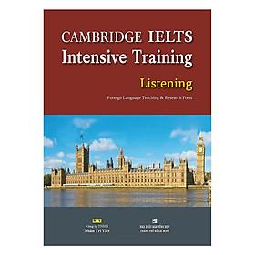 Sách - Cambridge Ielts Intensive Training Listening (Kèm 1 Đĩa Mp3)