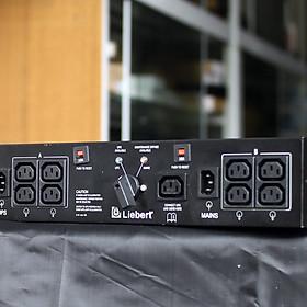 Thanh phân nguồn UPS cao cấp Emerson Liebert MicroPOD MP2-210K Max 10A External Maintenance Bypass Switch - Lắp được trên thanh trượt - Tặng Kèm Móc Khóa 4Tech.