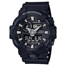 Đồng hồ nam dây nhựa Casio G-Shock chính hãng GA-700-1BDR