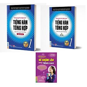 Combo Sách Tiếng hàn tổng hợp dành cho người Việt Nam - Sơ cấp 1 + những điều  dễ nhầm lẫn trong tiếng hàn