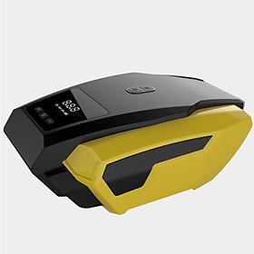 Bơm lốp ô tô, xe hơi thông minh CAR365 Chính Hãng , Màn hình điện tử đo áp suất lốp kèm đèn LED chiếu sáng khi trời tối - CAR18