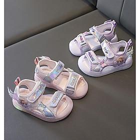 Dép Sandal Bé Gái Angel - Giày Sandal Cho Bé Chống Vấp Xinh Xắn Đáng Yêu