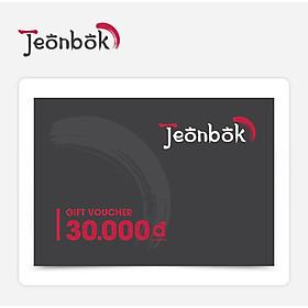 Jeonbok - Phiếu Quà Tặng 30K