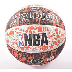 Bóng rổ Spalding NBA Graffiti Outdoor (Chơi ngoài trời)