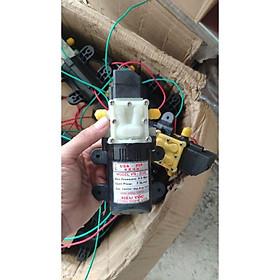 Bơm tăng áp mini hồi lưu 12v 220v tự ngắt Mỹ USA 7.3 lít/p phun thuốc, tưới cây, phun sương