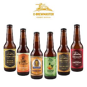 Combo 6 Chai Bia Craft C-Brewmaster - Khám Phá