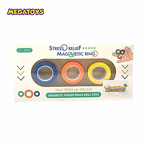 Bộ nhẫn Nam châm giải trí 3 màu - Xả stress 559