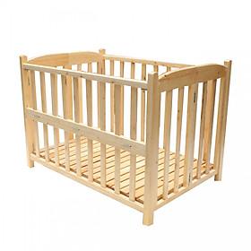 Cũi cho bé Màu gỗ quế mộc (85 x 130 cm)