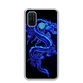Ốp lưng dẻo cho điện thoại VSMART JOY 4 - 0270 DRADON02 - Hàng Chính Hãng