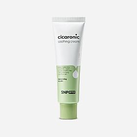 Kem Dưỡng Ẩm Làm Dịu Da SNP Prep Cicaronic Soothing Cream