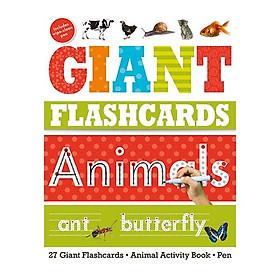 Giant Flashcards Animals