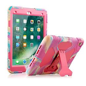Ốp lưng ipad, Bao Silicone dành cho Ipad Air 2 / Pro 9.7 / Gen 5 2017 / Gen 6 2018 Màu hồng dễ thương dành cho bé gái, Chống vân tay và mồ hôi dễ dàng lau chui