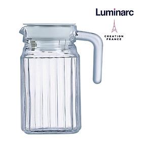 Bình nước thủy tinh Luminarc Quadro 0.5 Lít - LUQUG2667
