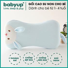 Gối cao su non cho bé chống bẹp đầu cao cấp. Gối dành cho bé từ 5 tháng tuổi đến 4 tuổi. Mềm mại, thoáng khí, giúp con ngủ ngon hơn