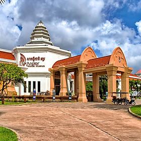 Vé Bảo Tàng Quốc Gia Angkor Ở Siem Reap, Campuchia