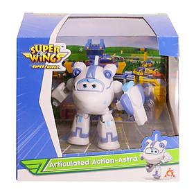 Đồ chơi Robot bẻ khớp mini Astra bí ẩn SUPERWINGS YW740994