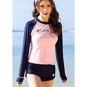 Bikini Hai Mảnh Đồ Bơi Tay Dài Che Nắng MHAT045 MayHomes Form Chuẩn Thun Bốn Chiều Co Giãn Tốt