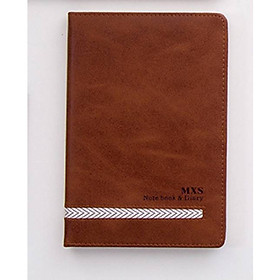 Sổ tay bìa da MXS Notebook and Diary