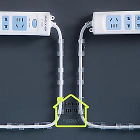 Bộ 20 cái nẹp cố định dây điện chống rối