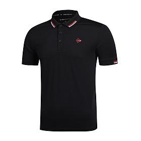 Áo thun Tennis Nam Dunlop - DATES9044-1C kiểu polo nam thoáng khí thoát mồ hôi tốt phù hợp vận động thể thao cầu lông tennis