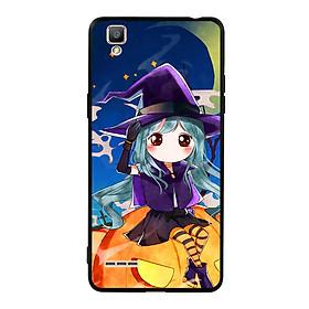 Hình đại diện sản phẩm Ốp lưng Halloween viền TPU cho điện thoại Oppo F1 - Mẫu 04
