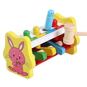 Đồ chơi đập chuột bằng gỗ