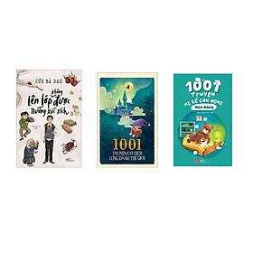 Combo 3 cuốn Lên lớp không được nướng xúc xích + 1001 truyện cổ tích lừng danh thế giới  + 1001 truyện mẹ kể con nghe  - Mùa đông