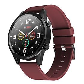 F35 Intelligent Watch BT4.0 Call Dial Fitness Tracker Sport Health Monitoring IP67 Waterproof (Grey)