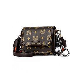 Túi đeo chéo họa tiết nổi bật dây thổ cẩm LA881