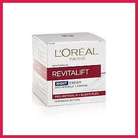 LOREAL REVITALIFT ANTI-WRINKLE + FIRMING NIGHT CREAM 50ML