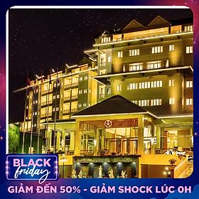 Ladalat Hotel 5* Đà Lạt - Buffet Sáng, Hồ Bơi, Gần Thung Lũng Tình Yêu, Tặng Phiếu Voucher Quà Tặng 200K