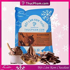 [ĂN BAO NGHIỀN❤️] Bột Làm Kem Tươi THUCPHAM.COM Vị Chocolate 1kg - Công Thức Độc Quyền Hương Vị Mới, Không Gắt, Không Hắc